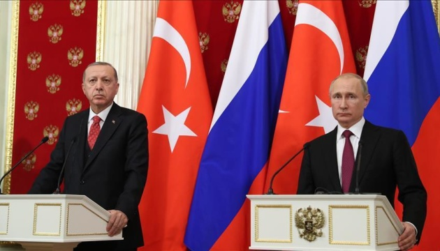 Ердоган після зустрічі з Путіним анонсував сирійський саміт