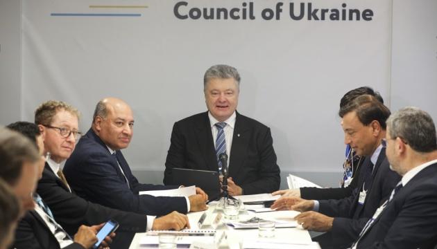 Порошенко: Ми рішучі в продовженні реформ, які приносять результат для України