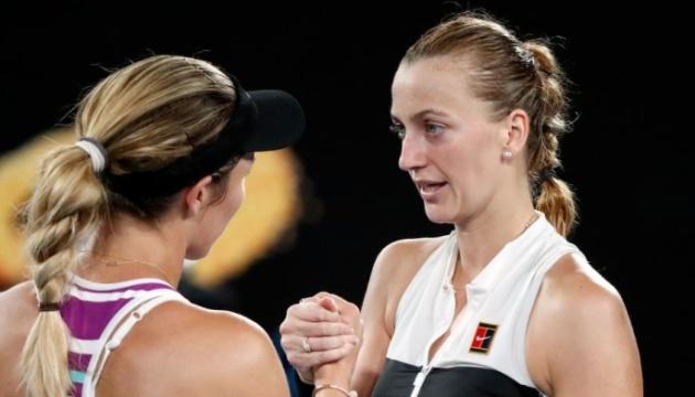 Чешка Квитова обыграла американку Коллинз и вышла в финал Australian Open