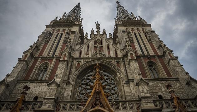 Столичний костел Святого Миколая ефектно підсвітять