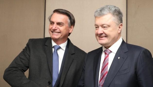 Davos: Poroschenko trifft sich mit brasilianischem Präsidenten