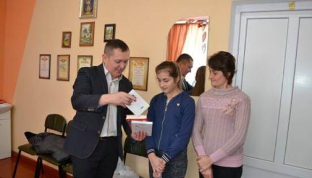 Українці Угорщини надіслали допомогу дітям загиблих учасників АТО з  Івано-Франківщини