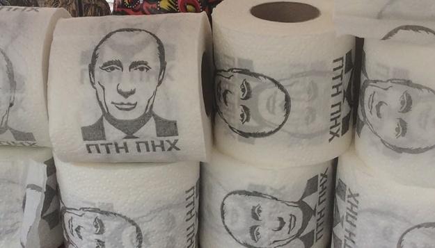 Гончаренко подарил Скабеевой туалетную бумагу с Путиным: Используйте как кляп
