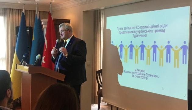 В Анкарі відбулося засідання Координаційної ради українських громад Туреччини