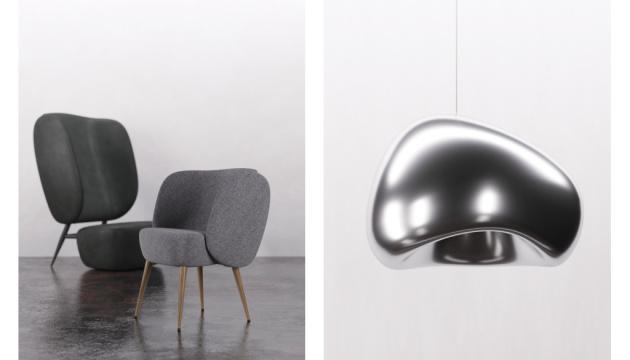 Лампи і крісло українських дизайнерів виставлять у центрі Парижа