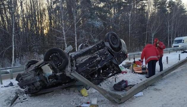 У ДТП на Житомирщині загинула жінка, двоє дітей травмовані