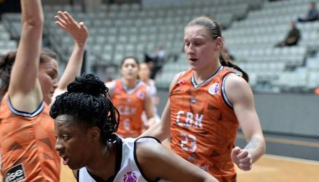 Баскетбол: клуб українки Ягупової здобув сьому поспіль перемогу в Єврокубку ФІБА