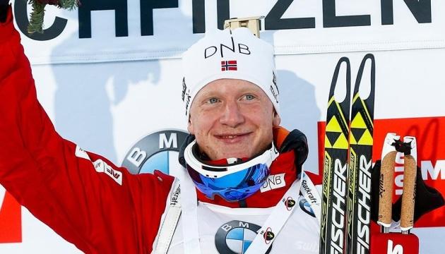 Норвежець Йоганнес Бьо виграв спринт на етапі Кубка світу з біатлону в Антхольці