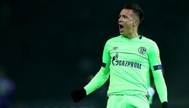 Бундесліга: Коноплянка забив за «Шальке» в матчі з «Гертою»