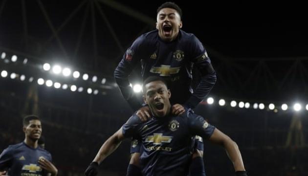«МЮ» пройшов «Арсенал» в Кубку Англії, Сульшер здобув восьму перемогу поспіль