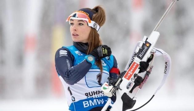 Італійка Вірер виграла персьют домашнього етапу Кубка світу з біатлону