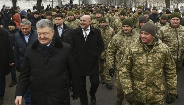 342 бійці 72-ї бригади мають нагороди, двоє стали Героями України - Порошенко