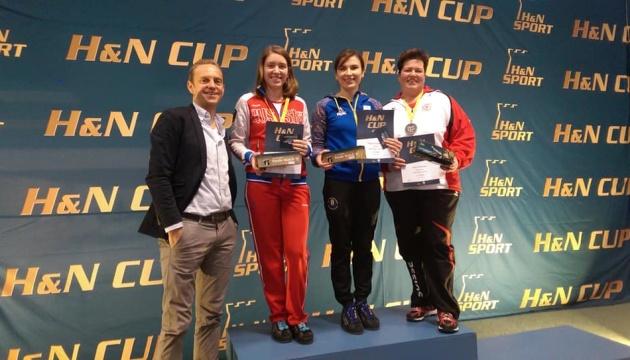 Стрільба: Костевич виграла два «золота» на турнірі в Мюнхені