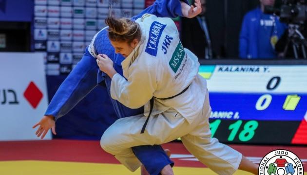 Дзюдо: Каланіна і Хаммо вибороли «срібло» на Гран-прі Тель-Авіва