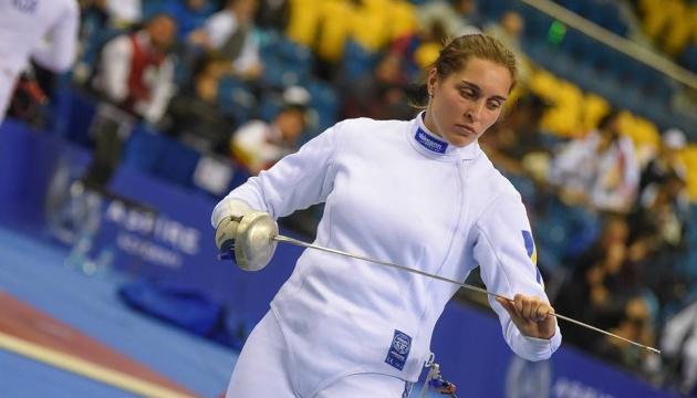 Фехтування: українка Пантелєєва виграла «срібло» на Гран-прі Дохи