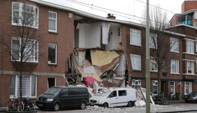 У Гаазі від вибуху обвалився будинок, людей витягують з-під завалів