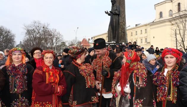 リヴィウで、山の民「フツル」の文化の日が開催
