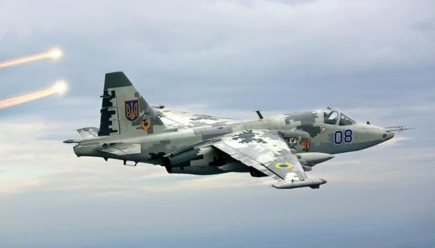 Ukrainian attack aircraft fly over Sea of Azov