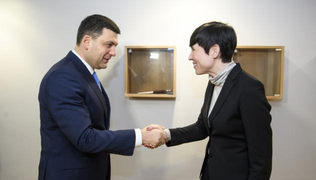 Treffen von Außenministern der Ukraine und Norwegens. Kreml-Aggression im Mittelpunkt