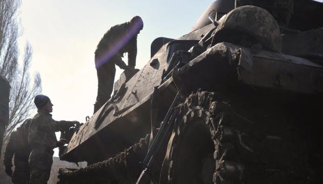 Donbass : la trêve violée à 10 reprises, un militaire blessé