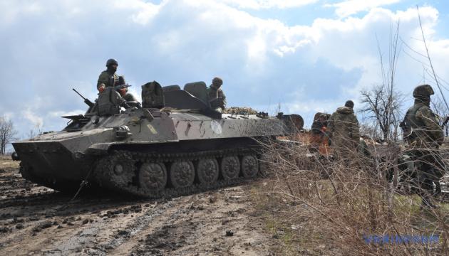 統一部隊作戦圏:30日のロシア占領軍の攻撃7回、宇兵の死傷者なし