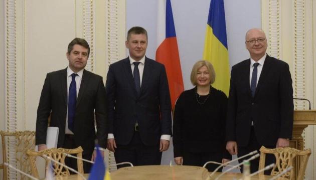 Україна і Чехія спрівпрацюватимуть з гуманітарного розмінування - Геращенко