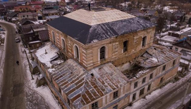 На Рівненщині почали відновлювати Дубенську синагогу
