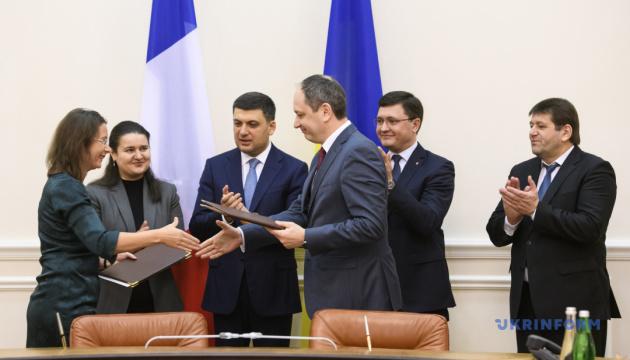 Франція дає €64 мільйони на проект