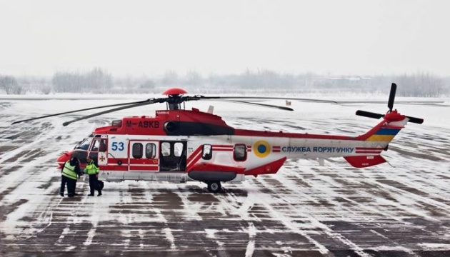 Third French Airbus helicopter arrives in Ukraine