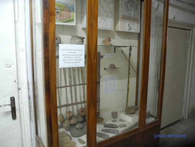 Археологічні матеріали з поселень трипільської культури