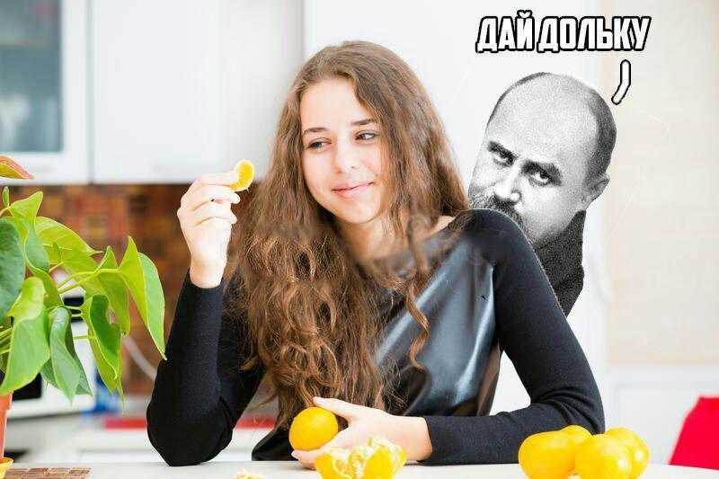 """Мем, що обігрує фразу з вірша Тараса Шевченка """"Думка"""" - """"Шукає козак свою долю, а долі - немає"""". Джерело: Файні меми про українську літературу"""