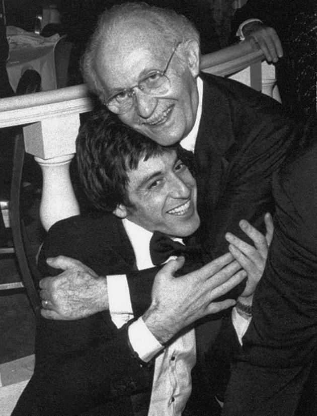 Ли Страсбрг с  учеником Аль Пачино