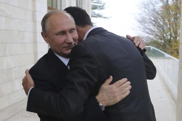 Путін і Асад