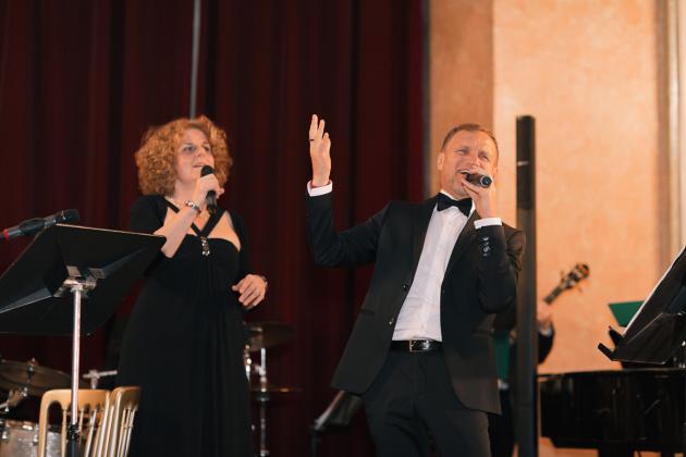 Vienna Jazz Melange та Олег Скрипка