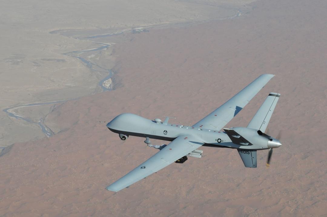 Американський ударний БПЛА MQ-9 Reaper