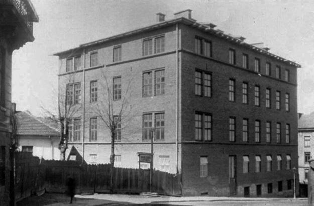 Народна лічниця у Львові, де працювала Софія Окуневська-Морачевська, 1903 р.