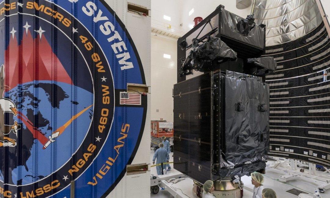 Американський супутник ранньої реєстрації запуску балістичних ракет SBIRS