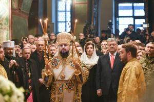 Inthronisation: ohne einen griechischen Mönch, aber mit dem Segen von Bartholomäus