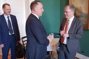 武器生产和网络安全:乌克兰和德国磋商合作