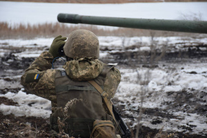 Russian-led forces launched 14 attacks on Ukrainian troops in Donbas in last day