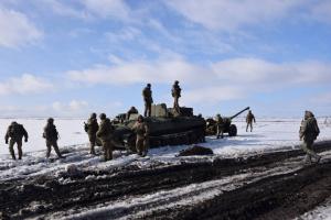"""Донбасс: восемь нарушений """"тишины"""", оккупанты применяли артиллерию и минометы 120 калибра"""