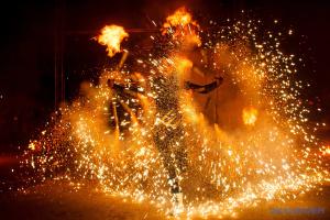 外喀尔巴阡州居民举办乌日哥罗德薄饼节告别冬季