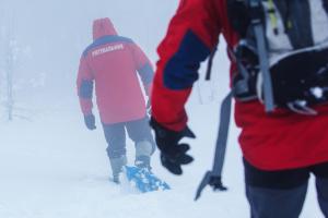 Искатели пропавших лыжников