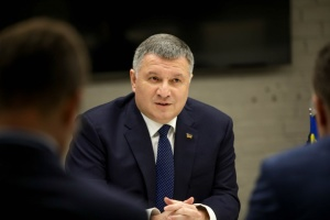 Ukrainian interior minister, French ambassador discuss issue of ensuring fair elections