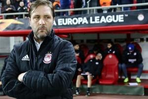 Главного тренера «Олимпиакоса» могут уволить перед матчем с «Динамо»