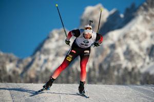 Норвежец Кристиансен выиграл спринт на этапе Кубка мира по биатлону в США