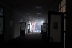 У будівлі петербурзького вишу обвалилися перекриття