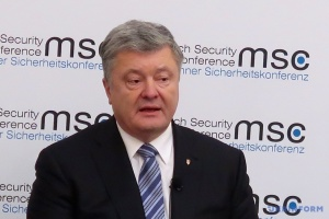 Poroschenko: Es wird keine Ukraine geben, wenn sie aufhört, sich zu verteidigen