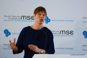 Kersti Kaljulaid: Estland unterstützt Bestreben der Ukraine, der EU näher zu sein
