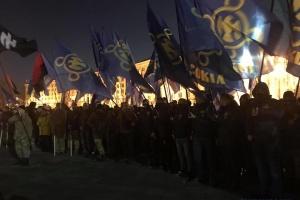 """""""Сокіл"""" провів марш у центрі Києва"""